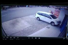 Bayangan Hitam Terekam CCTV di Wonogiri Bergerak Seperti Binatang