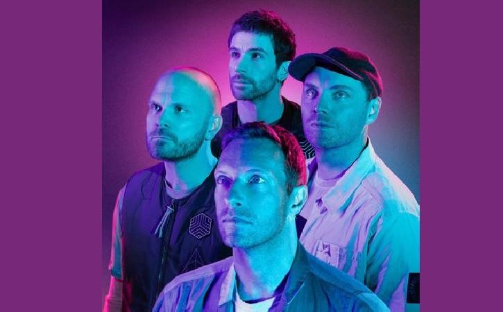 Band Inggirs, Coldplay. (Facebook)
