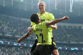 Besiktas 1-2 Dortmund: Erling Haaland Menangkan Die Borussen