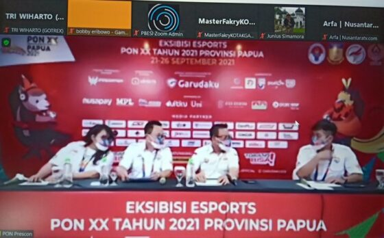Pertama dalam Sejarah, Pertandingan Esports Digeber Sore Ini di PON XX Papua