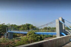 Misteri Jembatan Gantung Semanggi-Nusupan Sukoharjo, Katanya Ada Genderuwo Jahil