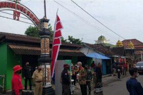Warga Delanggu Klaten Antusias Sambut Kedatangan Presiden Jokowi