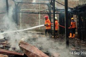 Setahun Tak Berpenghuni, Rumah di Sribit Sragen Ludes Terbakar