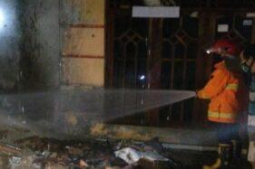 Toko Kelontong Milik Warga Jurangjero Sragen Hangus Terbakar