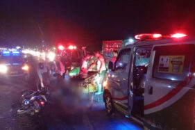 Polisi Ungkap Kronologi Kecelakaan Maut Tewaskan Pasutri di Jalan Solo-Sragen