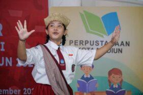 Pandai Mendongeng, Siswi SD Kota Madiun ini Sabet Juara Lomba Bertutur Nasional