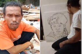 Kreatif! Pria Ini Bikan Lukisan Personel BTS dari Limbah Plastik, Hasilnya Dibanjiri Pujian