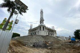 Pembangunan Sudah 60%, Ini Penampakan Masjid Agung Karanganyar