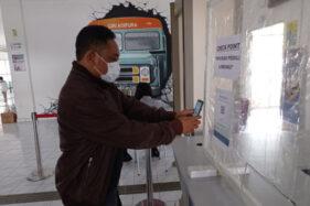 Aplikasi PeduliLindungi Mulai Diterapkan di Terminal Bus Wonogiri