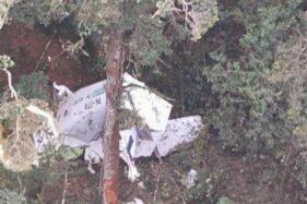Pesawat Rimbun Air Ditemukan Jatuh dan Hancur, Handphone Pilot Masih Aktif