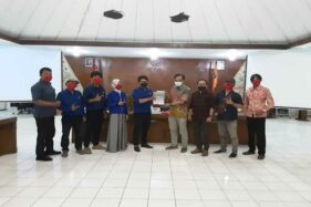 Urus Kepesertaan Pemilu, DPW Prima Sambangi Kantor KPU Jateng