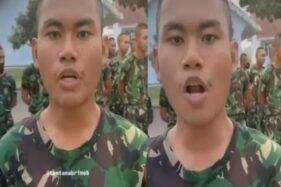 Unik! Nama Prajurit TNI Ini Lebih Tinggi Dibanding Pangkatnya Sendiri