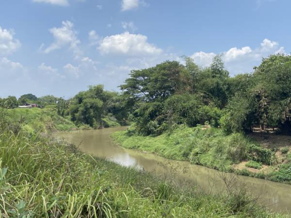 Jejak Limbah Ciu Hilang Tersapu Hujan, Kali Samin Sukoharjo Bersih Lagi