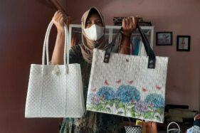Emak-Emak Kreatif Madiun Sukses Jual Tas Plastik ke Mesir