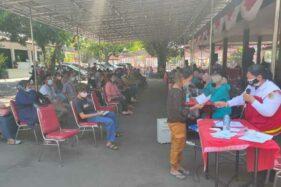 Enggak Pakai Kerumunan, Ribuan Orang Ikut Vaksinasi Covid-19 di Pendapa Pemkab Wonogiri