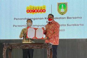 Indosat Ooredoo Hadirkan Kampung Digital di Kota Solo