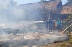 Rumah Pensiunan Guru di Grobogan Ludes Terbakar, Kerugian Rp125 Juta