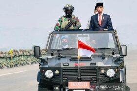 Presiden Jokowi Tetapkan 3.103 Anggota Komponen Cadangan TNI