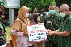 Cair Lur, 6.500 PKL dan Pedagang Warung di Klaten Dibantu Rp1,2 Juta