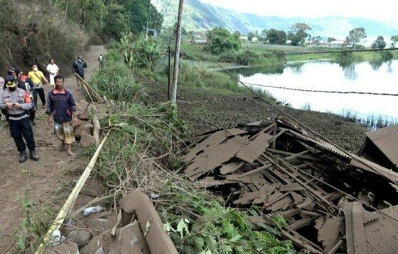Warga tiga desa di Kintamani Bangli terisolir akibat gempa Bali