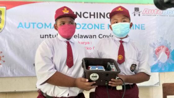 Mantul, 2 Siswa SD di Klaten Ciptakan Ozone Machine untuk Lawan Virus