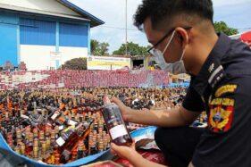 Bea Cukai Riau Musnahkan Barang Ilegal Senilai Rp5,4 Miliar