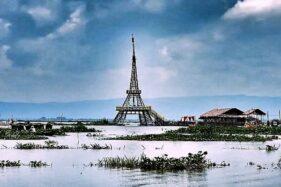 Ada Menara Eiffel di Rawa Pening, Tak Perlu ke Paris Gaes