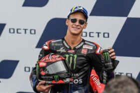 Jadi Juara Dunia Moto GP 2021, Quartararo: Rasanya Luar Biasa