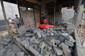 Dampak Gempa Bali, Ratusan Rumah Rusak Berat