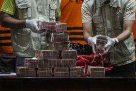 KPK Gelar Kasus OTT Bupati Musi Banyuasin dan Barang Bukti Uang Suap