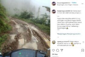Jalan Rusak di Banjarnegara Parah Banget: Brocel Kayak Sungai Kering