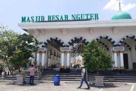 Ini Foto-Foto Kondisi Serambi Masjid Besar Nguter yang Ambrol Atapnya
