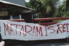 Tak Cuma di Solo, Spanduk Mataram Is Red Juga Ditemukan di Klaten