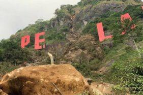 Bukit Jimat Pemalang Longsor, Fasilitas Wisata Taman Rancah Rusak