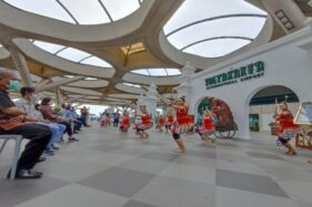 Promosikan Budaya, Bandara YIA Pamerkan Karya Seni Rupa