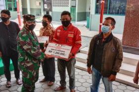 5.680 Pedagang Karanganyar Terima BLT via Kodim