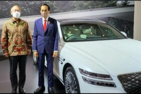 Jokowi Tunjuk Mobil Listrik Ini untuk KTT G20 di Bali