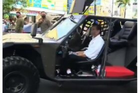 Kendaraan Serbu Antar Presiden Jokowi, Ganas Juga Spesifikasinya
