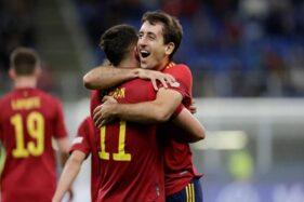 Spanyol ke Final UEFA Nations League, Tunggu Pemenang Belgia vs Prancis