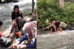 Niat Rekreasi Asyik di Sungai, Para Pemuda Ini Alami Hal Tak terduga
