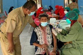 Kisah Mbah Lamidi Klaten, Semangat Ikut Vaksinasi di Usia 102 Tahun