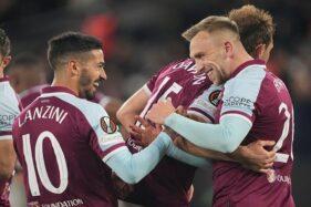 Hasil Pertandingan Liga Europa: West Ham Pesta Gol!