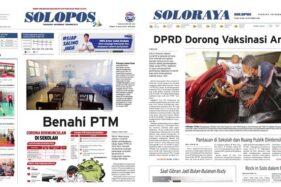 Solopos Hari Ini: Benahi PTM, Gibran Jadi Bulan-Bulanan Rudy