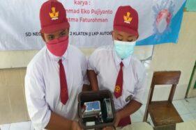 Automatic Ozone Machine Bikin PTM di SDN II Butuhan Klaten Kian Nyaman