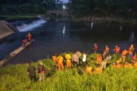 Terjun Ke Sungai Opak, Bocah 10 Tahun Hingga Kini Belum Ditemukan