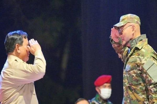 Siap Grakk! Deddy Corbuzier Jadi Duta Komcad TNI