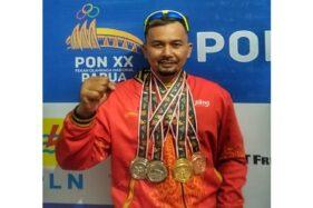 Hebat! Atlet Paralayang Sukoharjo Sabet 4 Medali PON