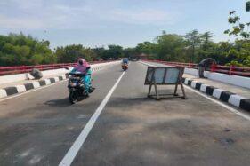 Jembatan Nambangan Wonogiri Rp12,9 Miliar Sudah Bisa Dilewati Lur...