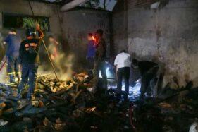 Dapur Rumah di Ponorogo Terbakar, Nenek Wiji Terluka