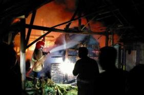 Kebakaran di Klandungan Sragen Menimpa Dapur Rumah Warga